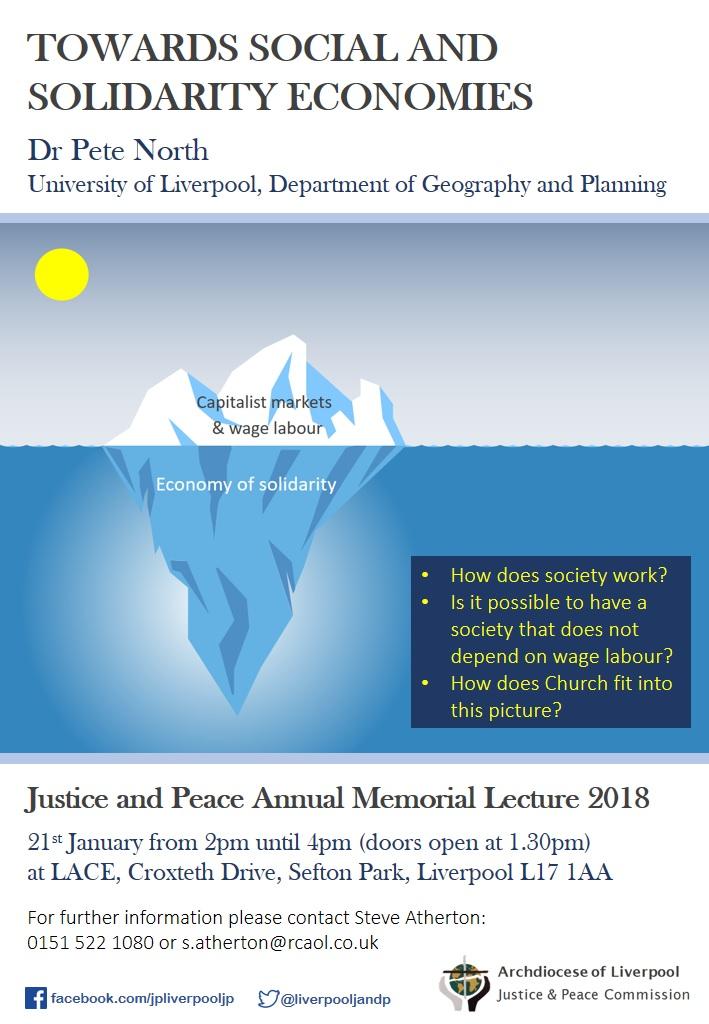 J&P Memorial Lecture 2018